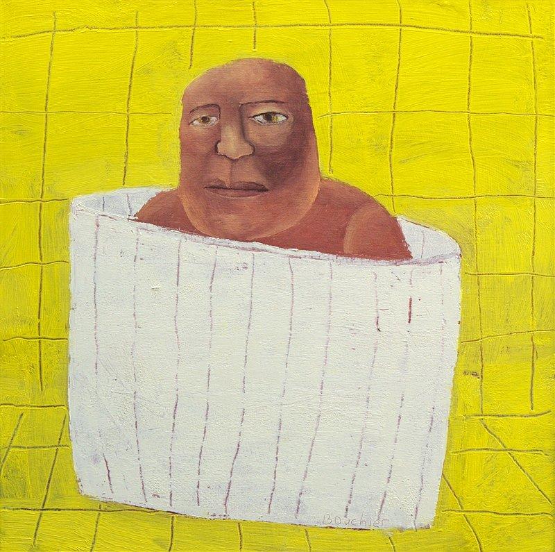 Man in tobbe