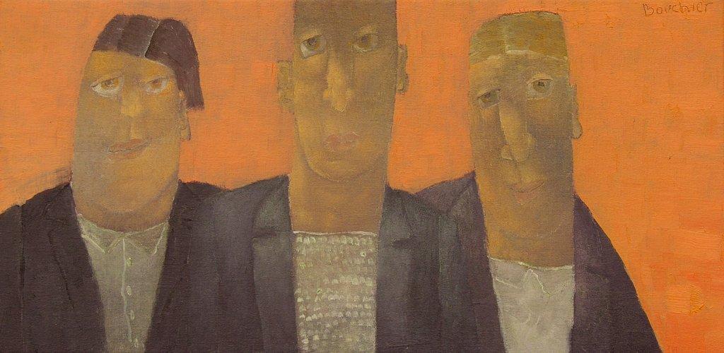 Drie figuren VII
